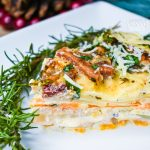 Sweet N Sassy Eats - Instant Pot Bacon & Herb Scalloped Potatoes - square