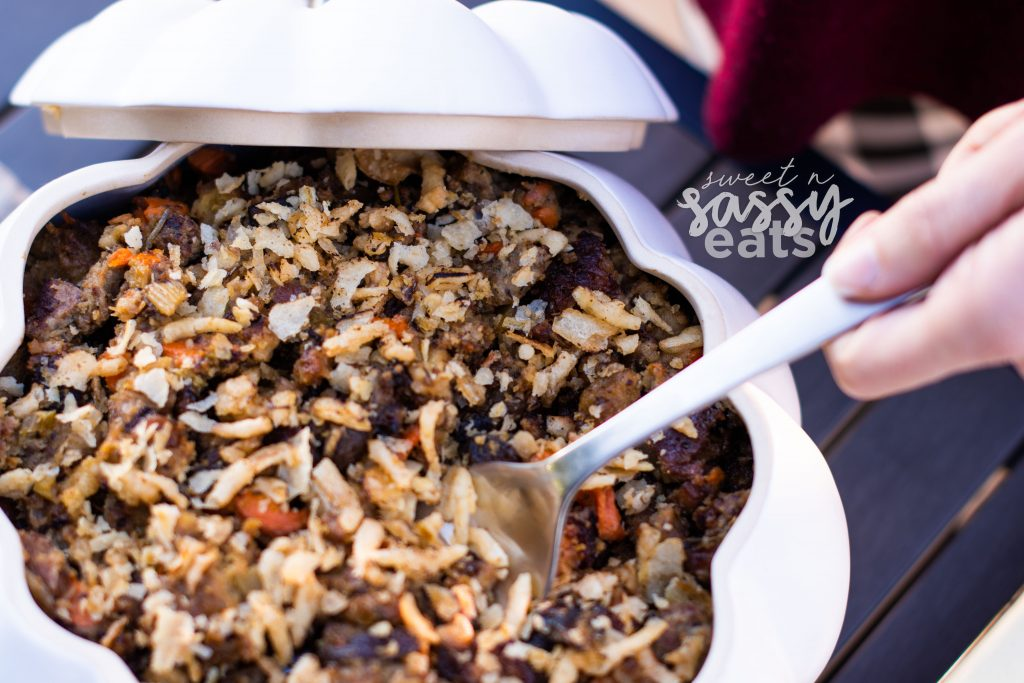Instant Pot Sausage Stuffing