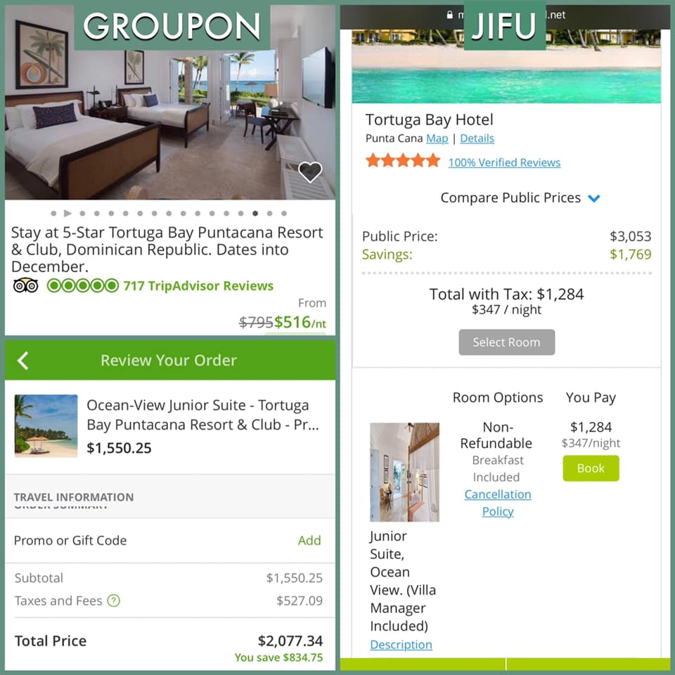 SAVE OVER GROUPON!
