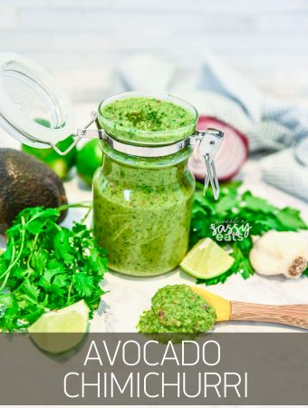 EASY & VERSATILE AVOCADO CHIMICHURRI