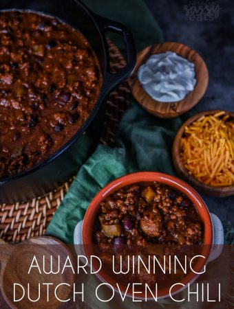Award-Winning Dutch Oven Chili