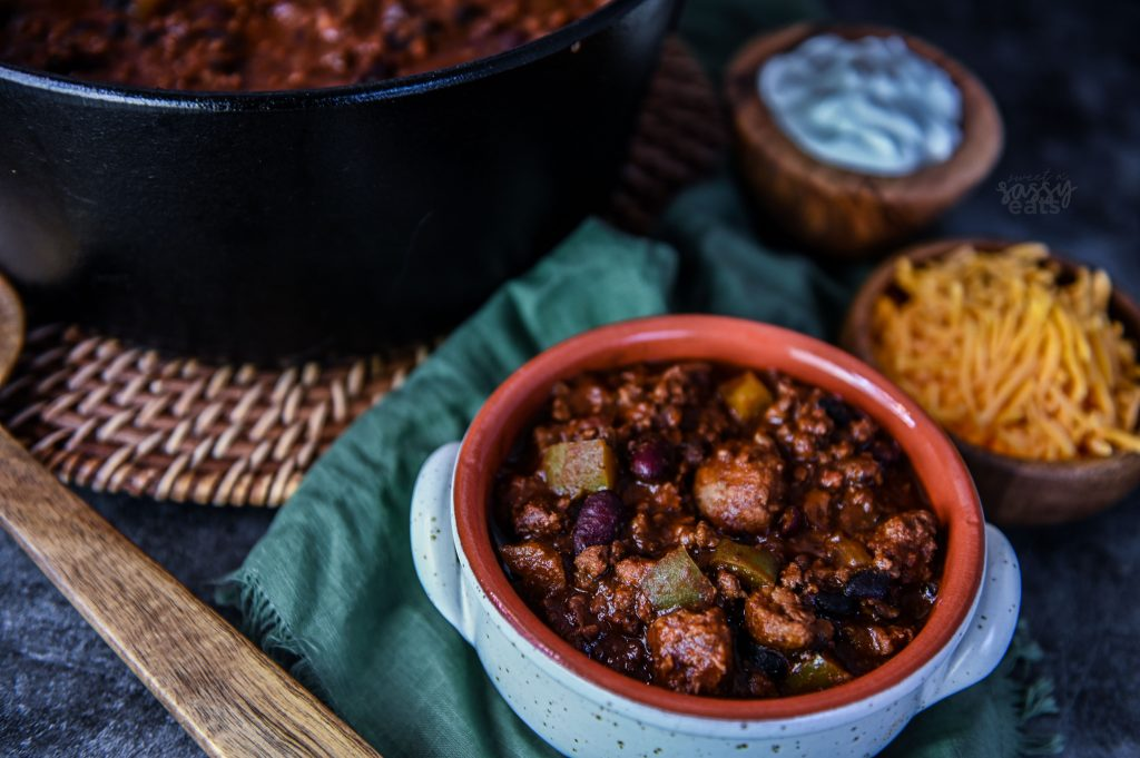 Delicious Dutch Oven Chili