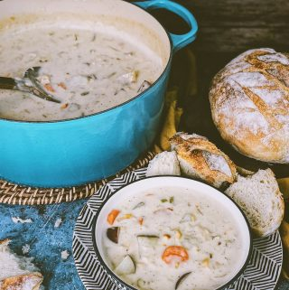 The perfect clam chowder